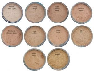 12g Sheer Mineral Foundation Refill in Light Olive Full Cover